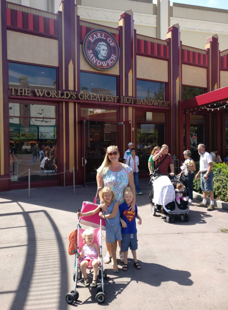 Earl of Sandwich, the holiday, traveling with kids, family travel, disneyland, disney dining, subway, world's greatest hot sandwich