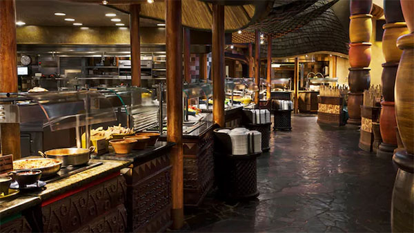 Boma -Flavors of Africa, Boma, African, Food, buffet, Walt Disney World, dinner, lunch, Epcot, France, World Showcase, diapersonaplane, Diapers On A Plane, traveling with kids, family travel