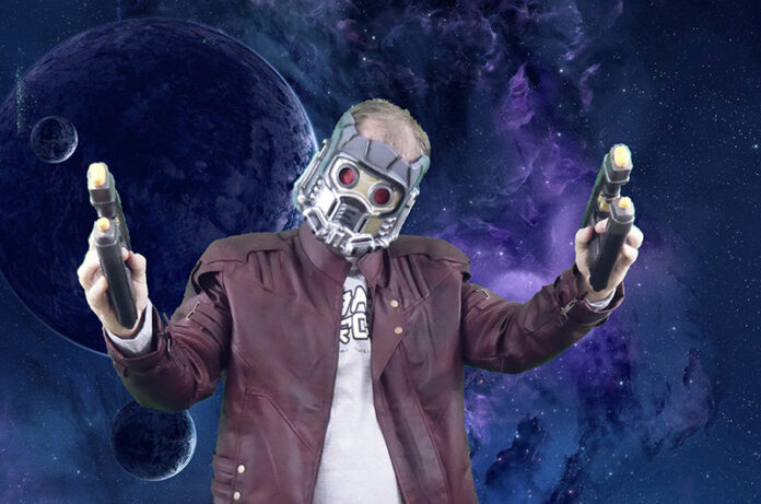 Star-Lord Halloween Costume, Guardians of the Galaxy, Halloween Costume Tutorial, Diapers on a plane, diapersonaplane, traveling with kids, creating family memories, family travel