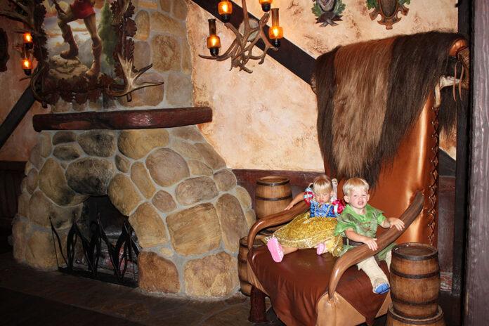 Gaston's Tavern, Fantasyland, Magic Kingdom, Walt Disney World, Traveling with kids, creating family memories, family travel, diapersonaplane, diapers on a plane
