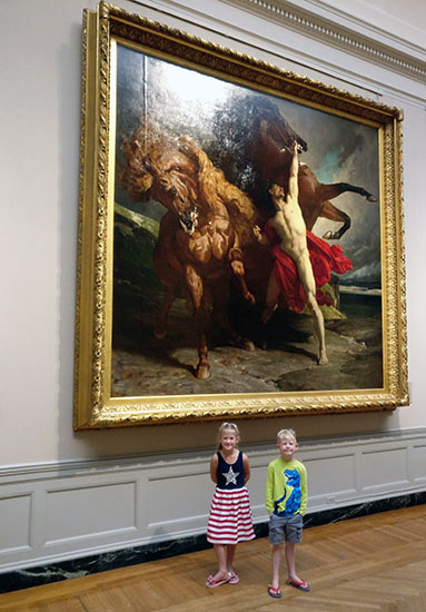 Museum of Fine Arts, Museum of Fine Arts Boston, Boston, Massachusetts, creating family memories, traveling with kids, family travel, diapesronaplane, Diapers On A Plane, Art, Rembrandt, Van Gogh, Paintings, Classic, World School