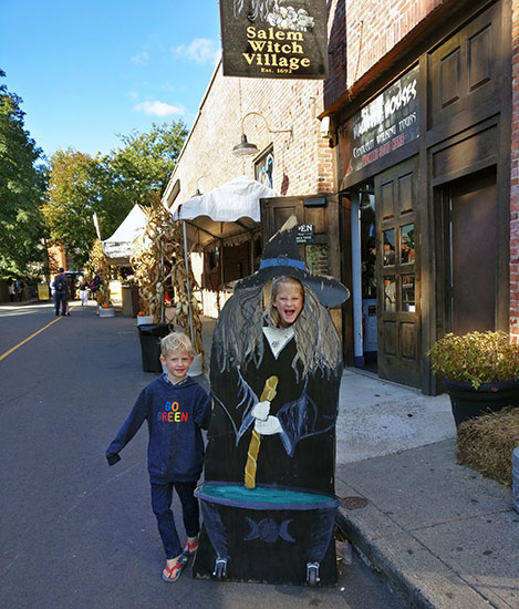 Salem, Massachusetts, Witch City, Halloween in Salem, Diapersonaplane, Diapers on a plane, family travel, creating family memories, traveling with kids