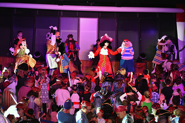 Pirate Night, Pirates in the Caribbean, Captain Jack Sparrow, Disney Cruise, Captain Hook, Pirate Goofy, diapersonaplane, diapers on a plane, traveling with kids, family travel, creating family memories