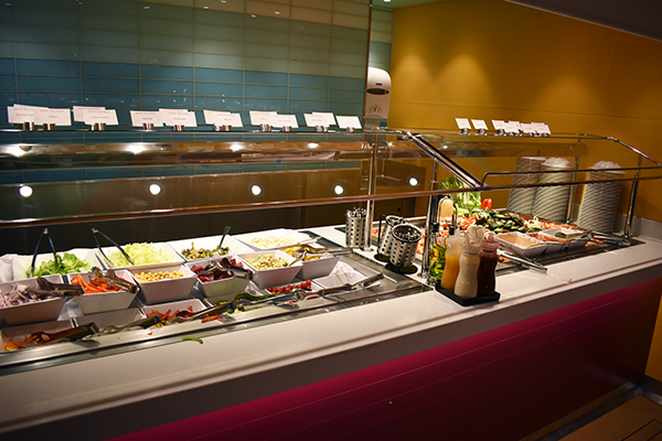 Disney Cruise Buffet, Cabana's, Cruise, Disney Cruise, Buffet, Breakfast Lunch Options on a Disney Cruise, Inside outside seating, Food on a Disney Cruise, diapersonaplane, diapers on a plane, traveling with kids, family travel