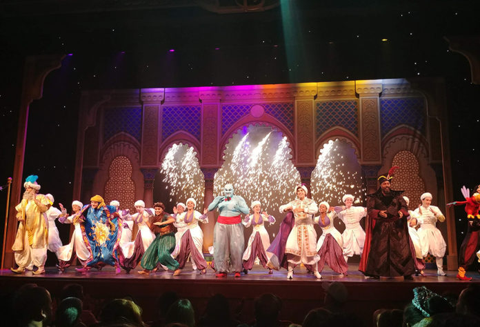 Disney Cruise Line Broadway Style Show, Broadway Style Shows, Aladdin, Frozen, A musical Spectacular, Disney Wishes, Disney Dreams, Disney's Believe, Golden Mickey's, Nightly Entertainment, Cruise Entertainment, Family Cruise Entertainment, Traveling with kids, family travel, creating family memories, Walt Disney Theater