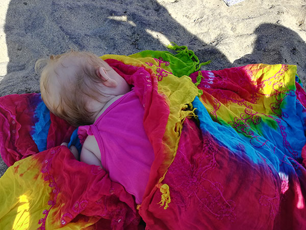 Black Sand Beach, Playa Negra, Vieques, Magnetic Beach, Puerto Rico, family travel, traveling with kids