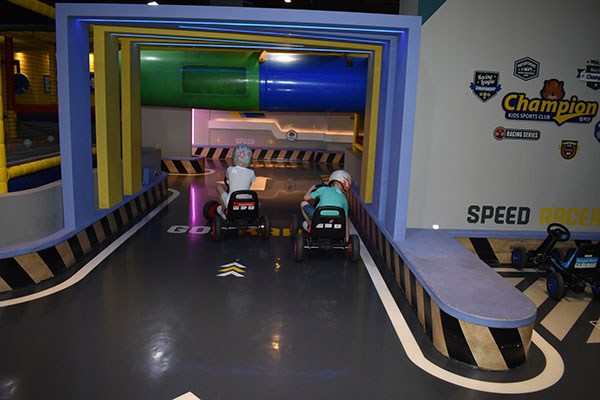Champion Sports Kids Play Area in Korea at Triple Street in Incheon
