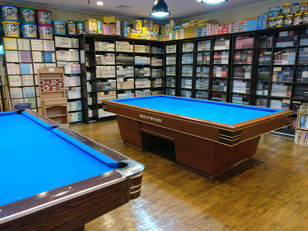 Books and Games for Rent at Spasis