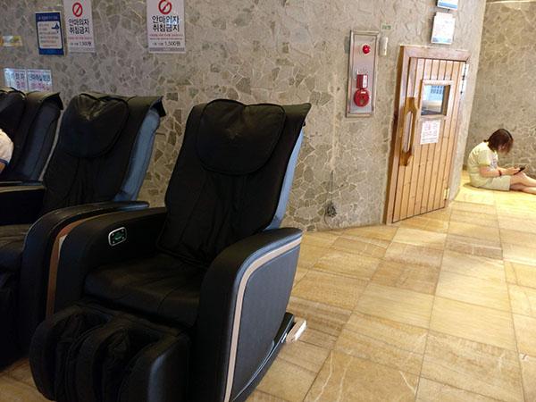 Massage Chairs at Spasis