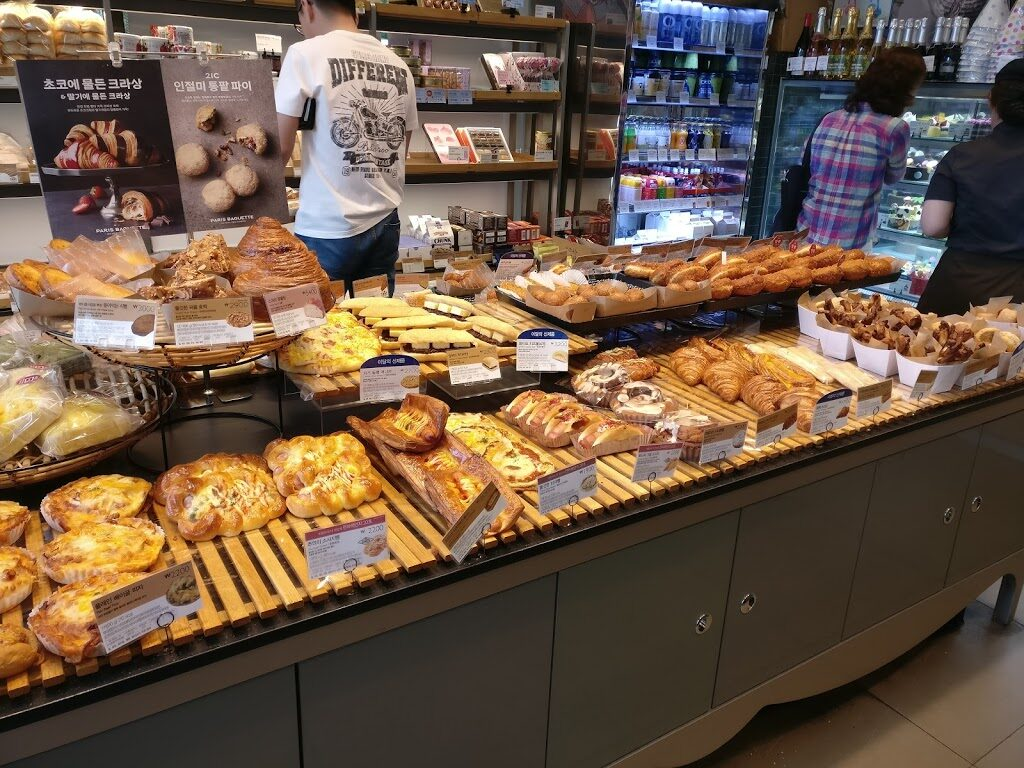 Paris Baguette Cafe in Korea