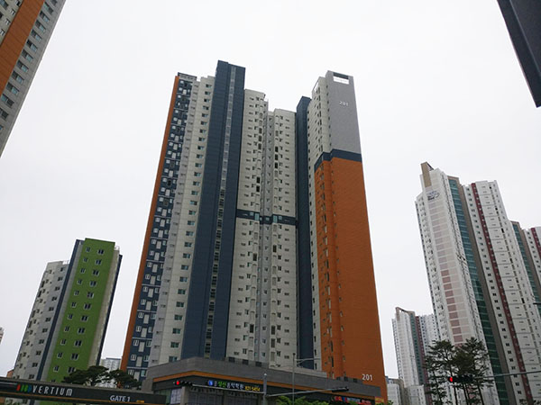 Buildings in Korea
