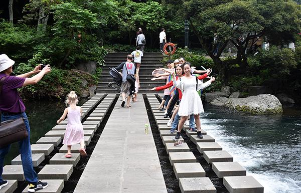 Exploring Waterfalls on Jeju Island with Kids