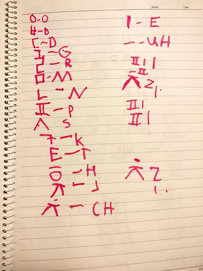 Worldschooling the Korean Alphabet in Korea