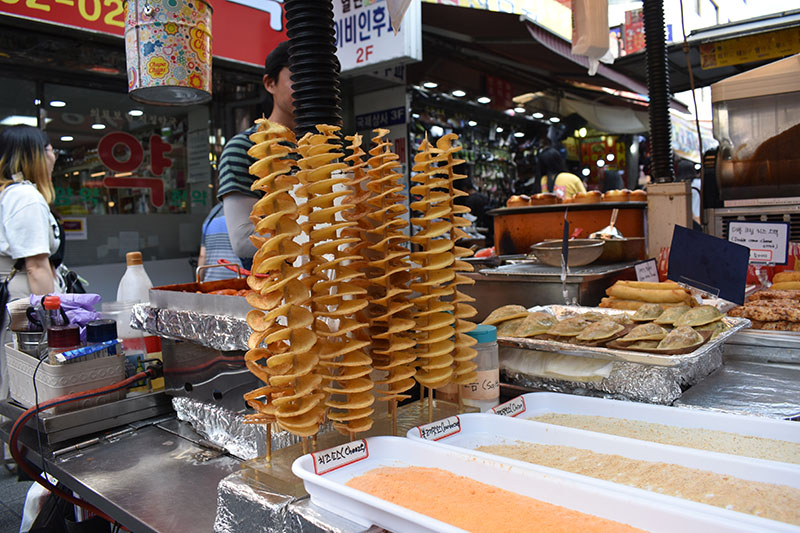 Street Food Namdaemum Market